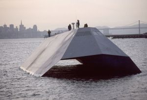 US Navy Sea Shadow Stealth Craft (public domain image)