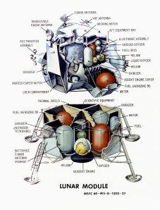 LM Illustration (courtesy of NASA)
